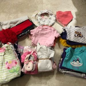3-6m girl box 2 DAYS ONLY
